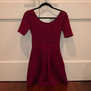 Red dress LUSH